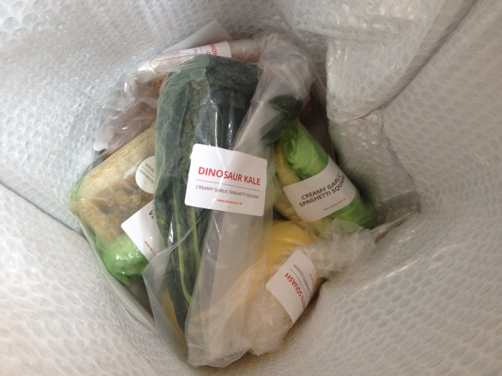 All ingredients are clearly labeled and wrapped. (Photo: Cori Faklaris)