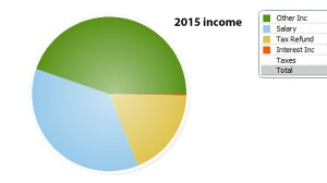 My 2015 income to date.