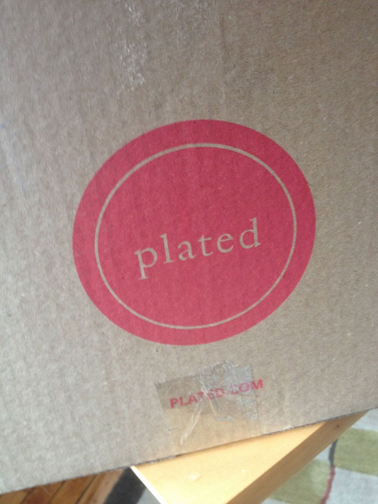 The logo for Plated.com is, of course, a circle. (Photo: Cori Faklaris)