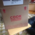 "More awesome package copy: ""Cook something extraordinary."" (Photo: Cori Faklaris)"
