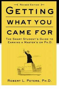 """Front cover of the paperback of """"Getting What You Came For,"""" via Amazon.com. For a book recommendation post."""